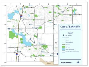 map of Lakeville