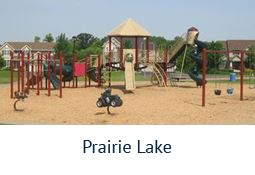 Prairie Lake Park playground equipment