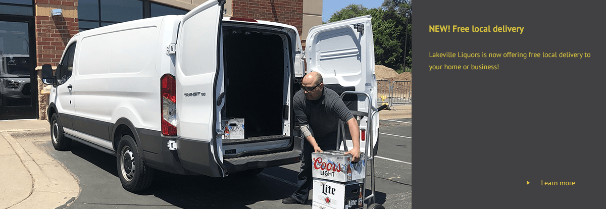 man loading delivery van with beer