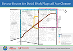 Dodd and Flagstaff detour routes