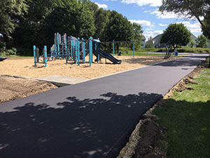 Dodd Pointe Park New Playground Front
