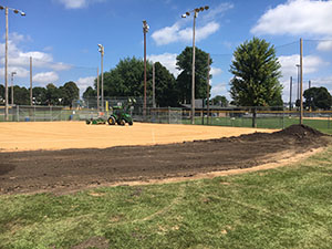 Aronson Improvements Ballfield