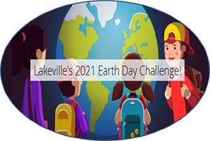 Earth Day image with kids