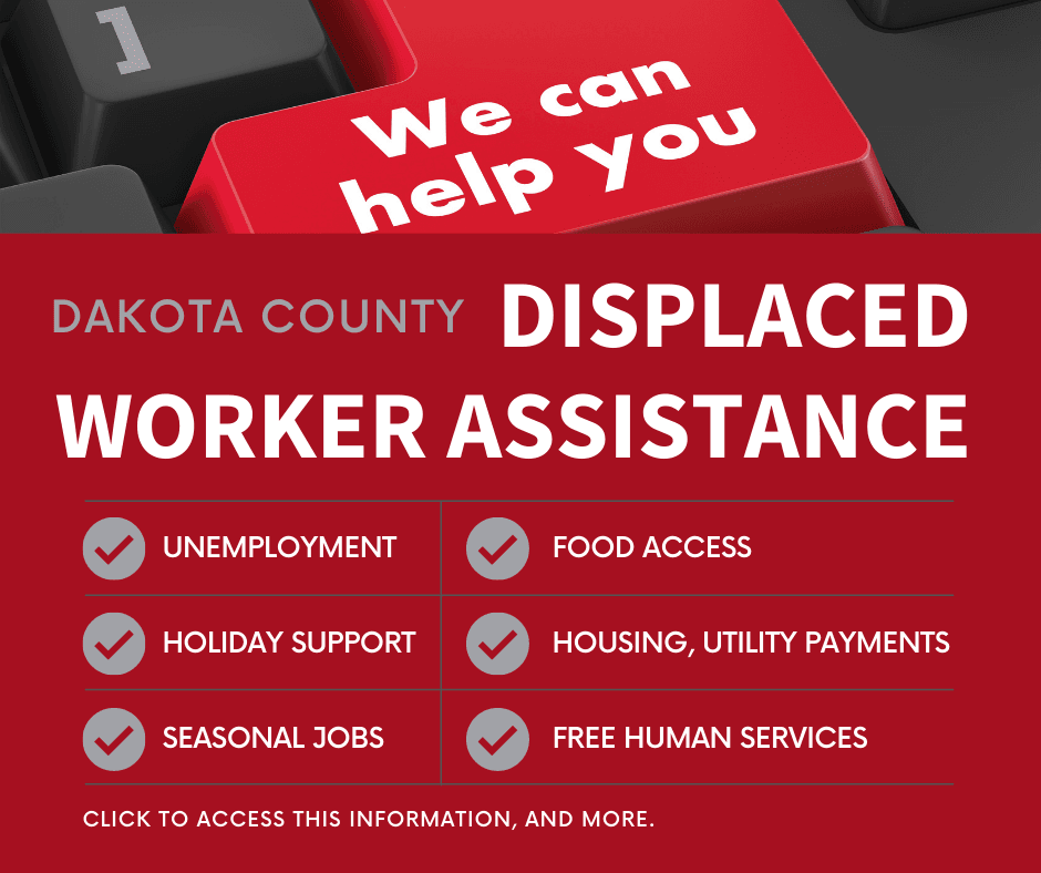 Dakota County support graphic