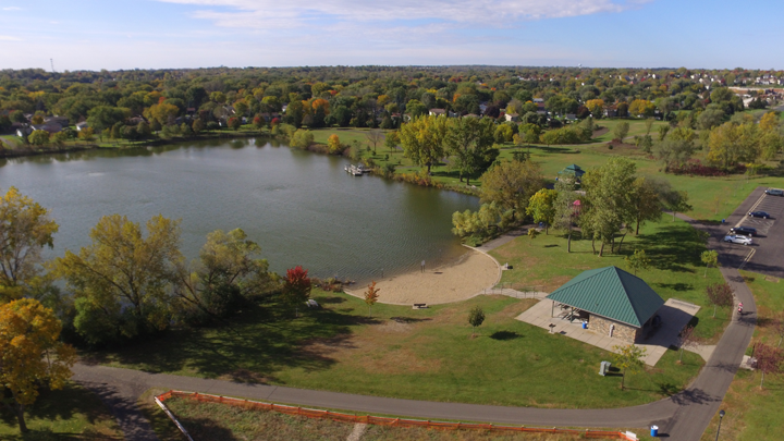 Valley Lake Park aerial image